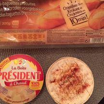 Tartines gourmandes avec La Boite à Chaud Président