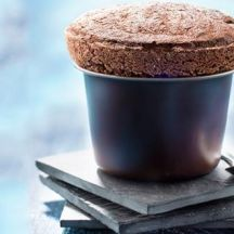 Soufflé au chocolat et coco avec PLANTA FIN®