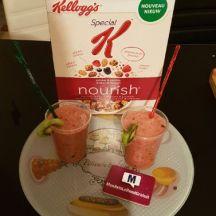 Smoothiee au Céréales Nourish Fruits rouges Special K