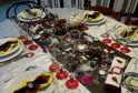 Table de fêtes de fin d'année : Joyeux Noël et Bonne Année !