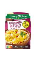 Colombo de poulet et riz long Fleury Michon