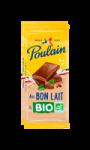 Chocolat au laitbon et bio Poulain