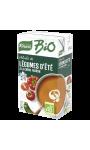 Velouté de légumes d'été à la crème fraîche bio Knorr