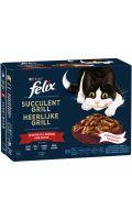 Succulent grill pour chat sélection de la campagne Félix Purina