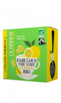 Thé vert citron Bio Clipper