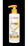 Démêlant et Masque 2 en 1 Coco Paradise Cheveux secs et abîmés Lovea