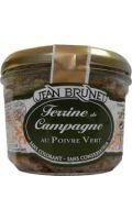Terrine de campagne au poivre vert Jean Brunet