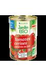Tomates cerises entières au jus Jardin Bio