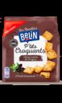 Biscuits apéritifs Ptit's Croquants Olives Noires & Origan Les Recettes Belin