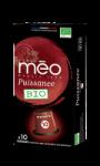 Café Bio capsules intensité 10 Méo