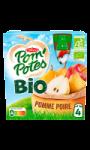 Compotes en gourde pomme poire Bio Pom'Potes
