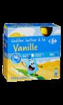 Gourdes goûter laitier à la vanille...