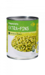 Flageolets extra fins Carrefour