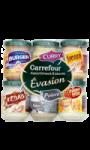 Assortiment 6 sauces évasion Carrefour