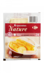 6 quenelles nature Carrefour
