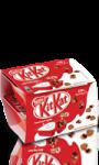 Yaourt saveur vanille avec billes Kit Kat