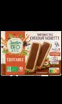Tartinettes chocolat noisette Bio Jardin Bio