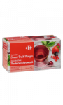 Infusion saveur Fruits Rouges Carrefour