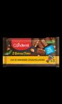 Barre chocolaté au lait et amandes croustillantes sans sucres ajoutés Canderel