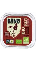 Pâté pour chiens bio au bœuf Dano