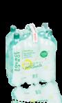 6 bouteilles d\'eau minérale naturelle peu salées gazeifiée source du Roy Carrefour
