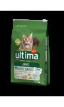 Croquettes pour chat adulte stérilisé au bœuf Ultima