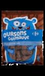 Bonbons oursons guimauve chocolat au lait...
