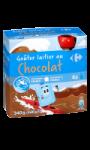 Gourdes goûter laitier au chocolat Carrefour