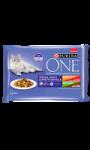 Pâtées pour chat à l'appétit difficile goûts variés Purina One