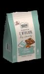 Carrés chocolat au lait avec éclats d'amandes Nestlé Les Recettes de l'Atelier