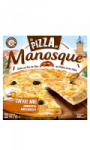 Pizza chèvre miel cuite au feu de bois La pizza de Manosque
