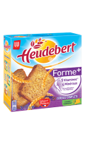 Biscottes aux céréales complètes forme+ Heudebert