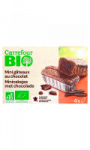 Mini gâteaux au chocolat Carrefour Bio