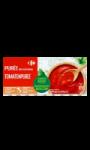 Purée de tomates aromatisée au basilic...