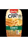 Tendre Croc' Comté et jambon Herta