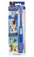 Brosse à dents électrique Power Kids l'âge de glace bleu Elgydium