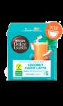 Café latte à la noix de coco Nescafé Dolce Gusto