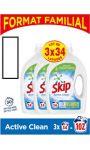 Lessive liquide active clean Skip