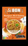 Boulgour riz quinoa aux tomates & épices Si BON