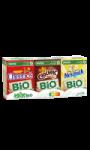 Céréales mix Bio Cheeros, Chocapic, Nesquik