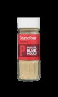 Poivre Blanc Moulu Carrefour