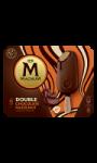 Glace bâtonnet double chocolat noisette Magnum