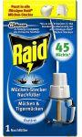 Essential electrique liquide repulsif moustiques recharge Raid