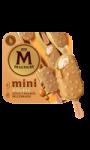 Glace mini Double milliardaire caramel d'or Magnum
