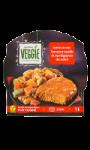 Galette de soja tomate basilic et ses légumes du soleil Carrefour Veggie