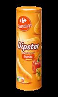 Chips tuiles au paprika Dipster Carrefour Sensation