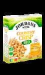 Céréales complètes avoine & orge dorées Bio Country Crisp Jordans