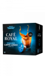 Café en capsules caffè lungo intensité 4/10 Café Royal