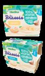 Les Brassés 100% Végétal Banane au lait de coco Dès 6 mois Bledina
