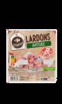 Lardons nature Label Rouge Carrefour Original